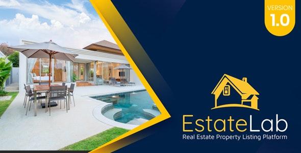 EstateLab - Real Estate Property Listing Platform - CodeCanyon Item for Sale