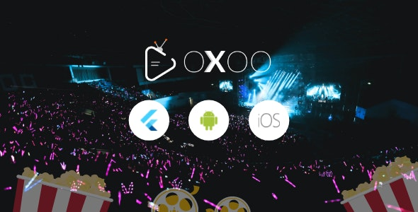 OXOO - Flutter Live TV & Movie Portal App for iOS And Android - CodeCanyon Item for Sale