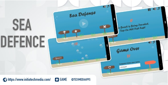 Sea Defense - Android Defense Game - CodeCanyon Item for Sale