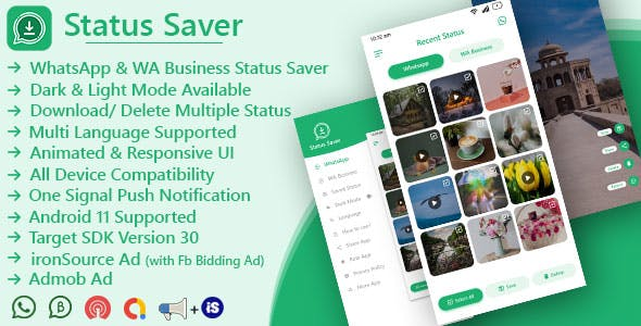 Status Saver (For WhatsApp & WhatsApp Business)
