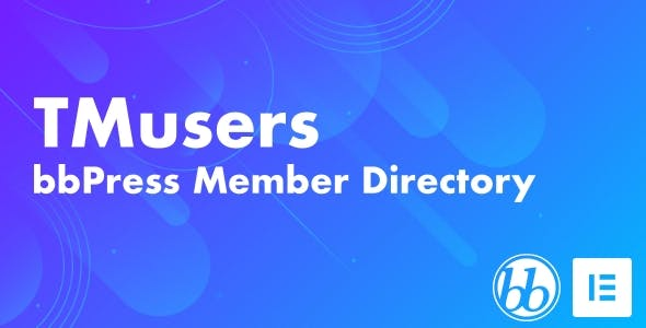 TMusers - bbPress Forum Member Directory For Elementor