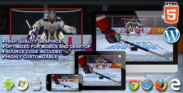 Hockey Shootout - HTML5 Sport Game