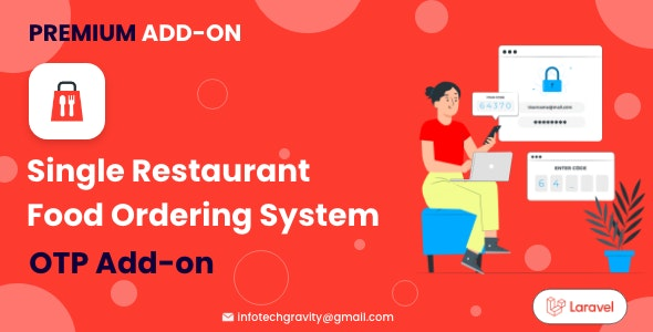 Single Restaurant   OTP add-on - CodeCanyon Item for Sale