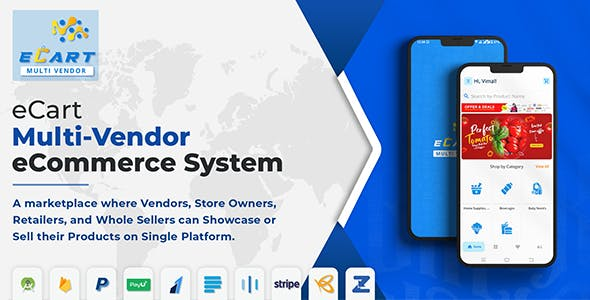 eCart - Multi Vendor eCommerce System