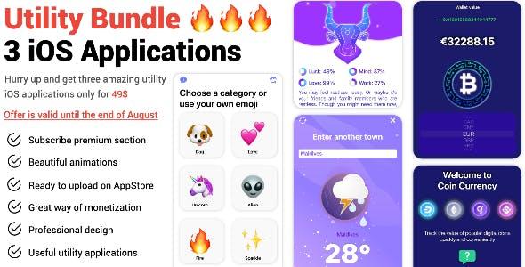Utility Bundle (3 IOS Applications)