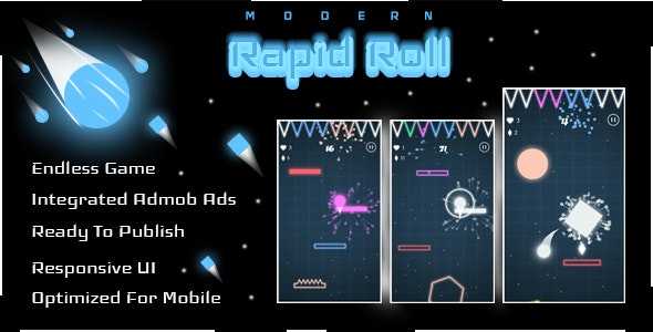 Rapid Roll - Complete Unity Game - CodeCanyon Item for Sale