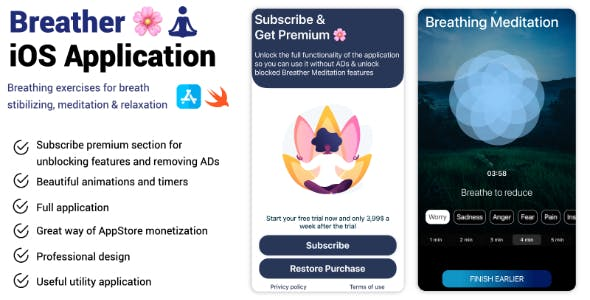 Breather iOS Application