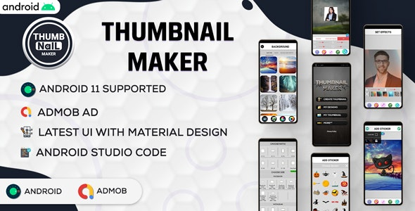 Ultimate Thumbnail Maker   Facebook covers   Instagram thumb   Android code   Admob ads  v 2.0 - CodeCanyon Item for Sale
