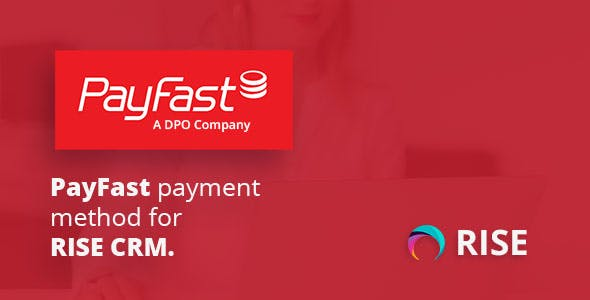 PayFast payment method for RISE CRM