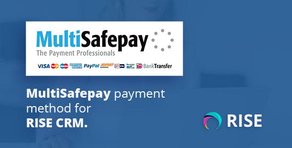 MultiSafepay payment method for RISE CRM
