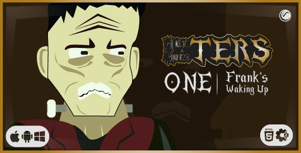 TERS One: Frank's Waking Up | HTML5 Construct Game - CodeCanyon Item for Sale