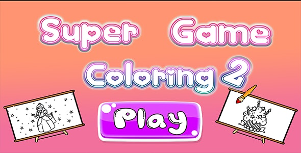 Super Game Coloring 2 - CodeCanyon Item for Sale