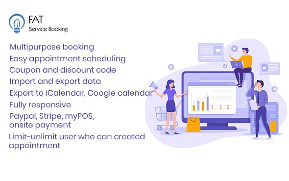 Fat Services Booking v4.3 – Automated Booking and Online Scheduling