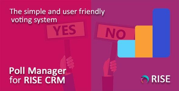 Poll Manager for RISE CRM v1.0