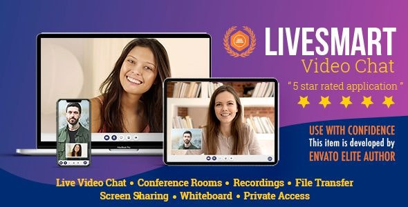 LiveSmart Video Chat - CodeCanyon Item for Sale