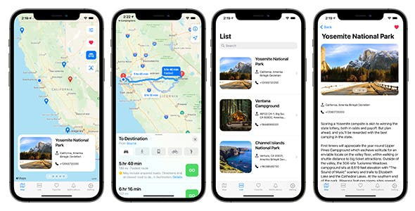 Camping Hero App | SwiftUI Full iOS Application