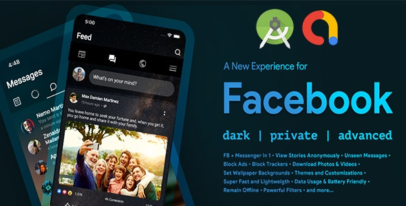Smart for Facebook - FB Videos, Images and Stories Saver with Fingerprint lock - CodeCanyon Item for Sale