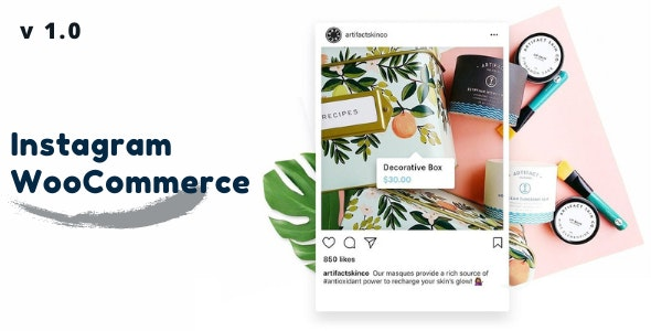 Instagram For WooCommerce - CodeCanyon Item for Sale