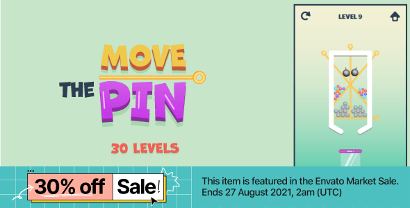 Move The Pin - HTML5 Game (Construct3)