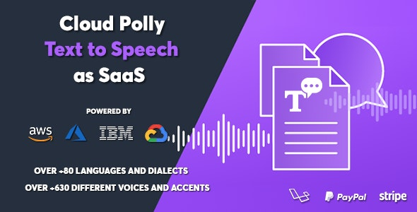 Cloud Polly v1.0.1 – Ultimate Text to Speech as SaaS – nulled