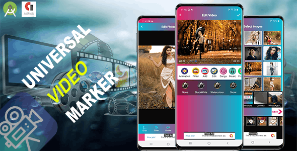Universal Video Maker (Android 11 supported and SDK 30)