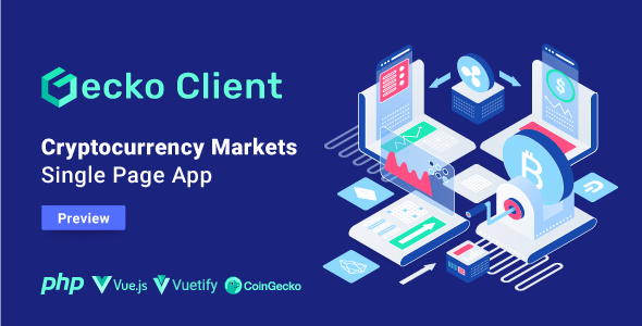 Gecko Client - Crypto Currency Markets Single Page App