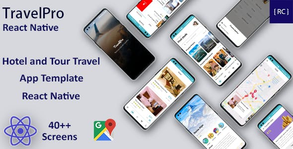 React Native Hotel Booking and Tour Travel App Template in React Native   TravelPro