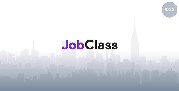 JobClass v9.0.0 – Job Board Web Application – nulled