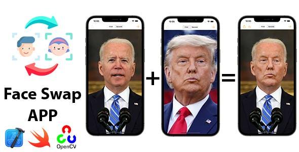 iOS Face Swap App