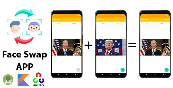 Android Face Swap App - CodeCanyon Item for Sale