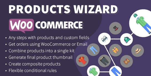 WooCommerce Products Wizard - Composite Product Builder