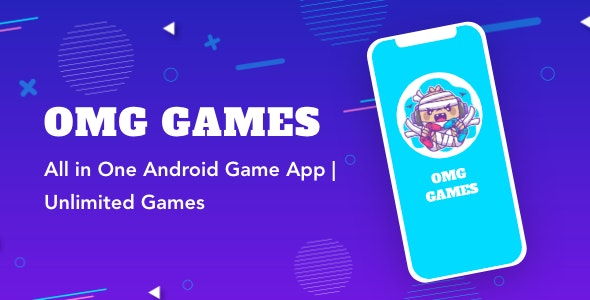 OMG Games - All in One Game App   AdMob   Unlimited Games   Android - CodeCanyon Item for Sale