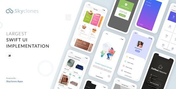 SkyControls SwiftUI Design UI kit
