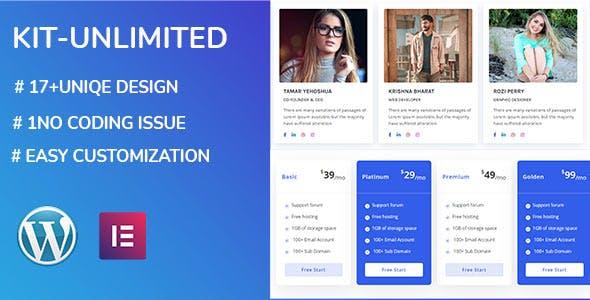 kit unlimited - Elementor Page Builder Addon