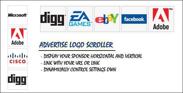 Advertise Logo Scroller