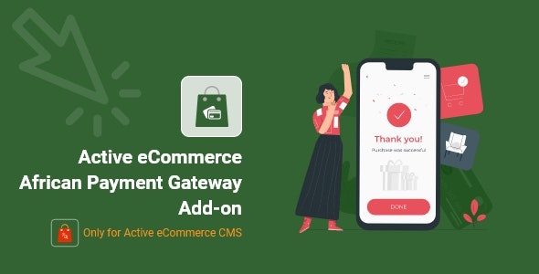 Active eCommerce African Payment Gateway Add-on - CodeCanyon Item for Sale