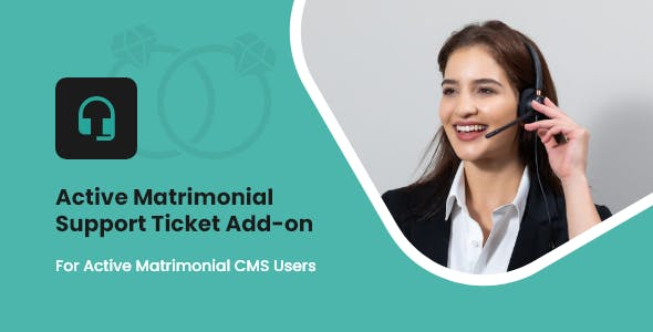 Active Matrimonial Support Ticket add-on