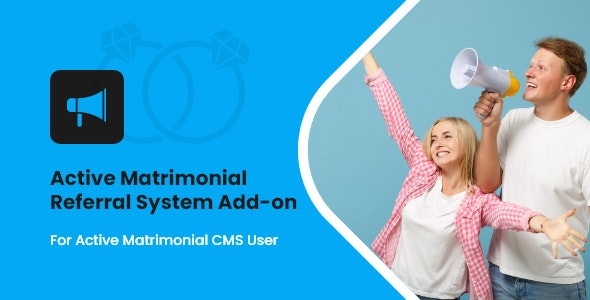 Active Matrimonial Referral System add-on - CodeCanyon Item for Sale