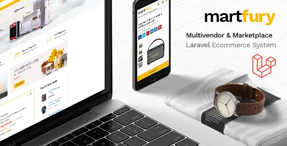 MartFury v1.12 – Multivendor / Marketplace Laravel eCommerce System