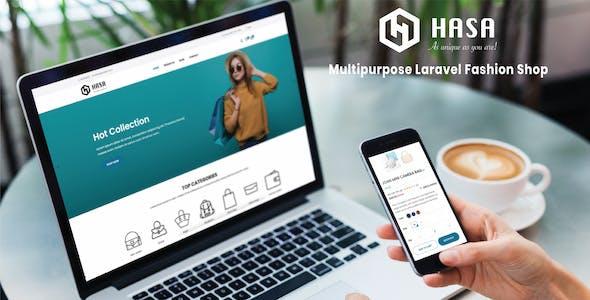 HASA - Laravel Multipurpose Multi-language Fashion Shop