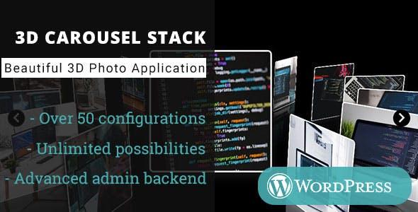 3D Carousel Stack Gallery - WordPress Plugin