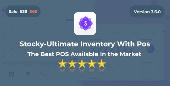 Stocky v3.6.0 – Ultimate Inventory Management System with Pos
