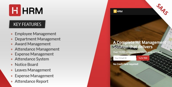 HRM SAAS - Human Resource Management - CodeCanyon Item for Sale