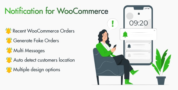 WooCommerce Sales Notification v1.0.0