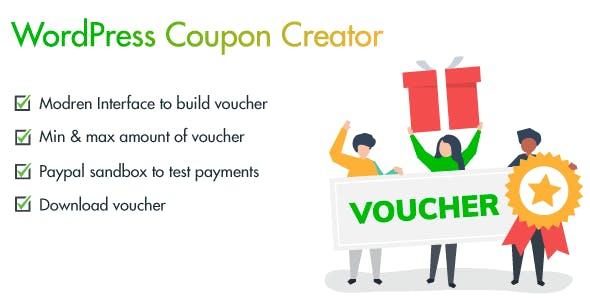 WordPress Coupon and Voucher Creator