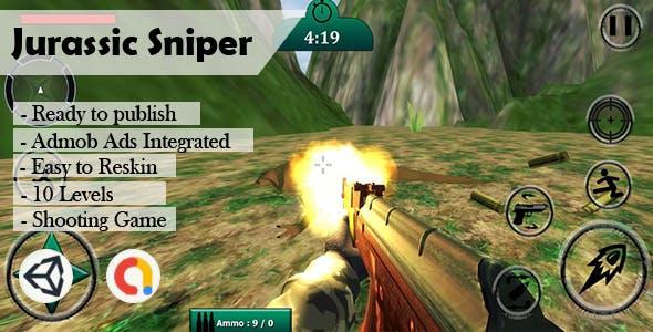 Jurassic Sniper (Unity - Admob)