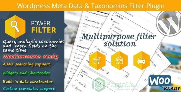 MDTF - Wordpress Meta Data & Taxonomies Filter