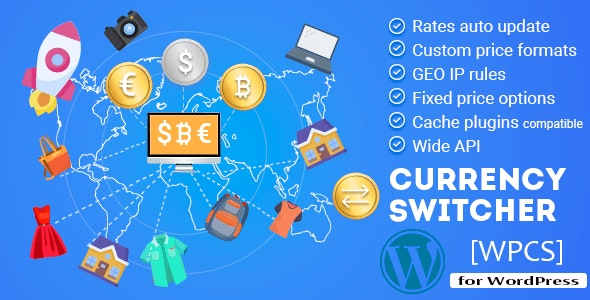 WPCS - WordPress Currency Switcher - CodeCanyon Item for Sale