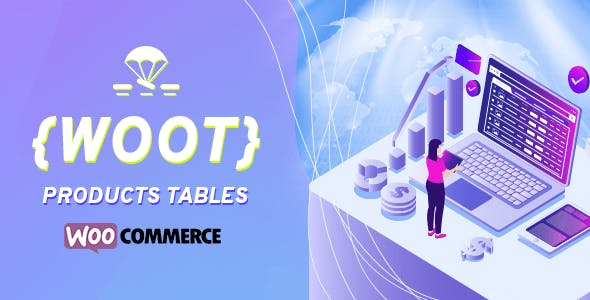 WOOT - WooCommerce Active Products Tables