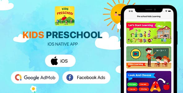 Kids Preschool - iOS App